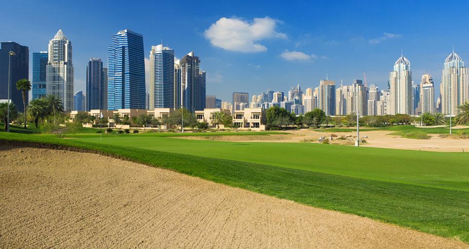Golfen und Badeferien in Dubai