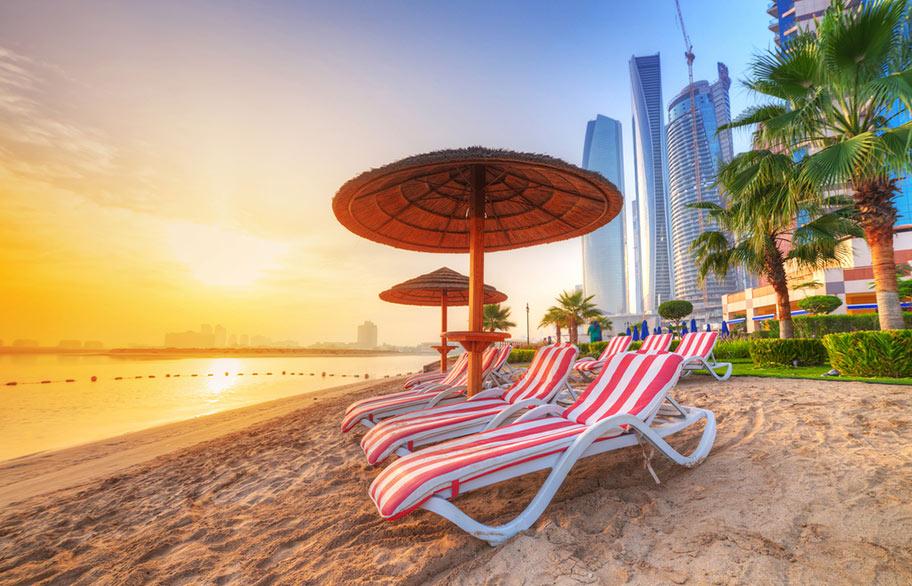 Dubai Badeferien an den schönsten Stränden