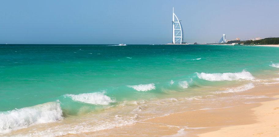 Die Top Ten Strände von Dubai