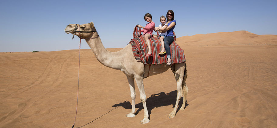 Ausflüge mit Kindern in den arabischen Emiraten