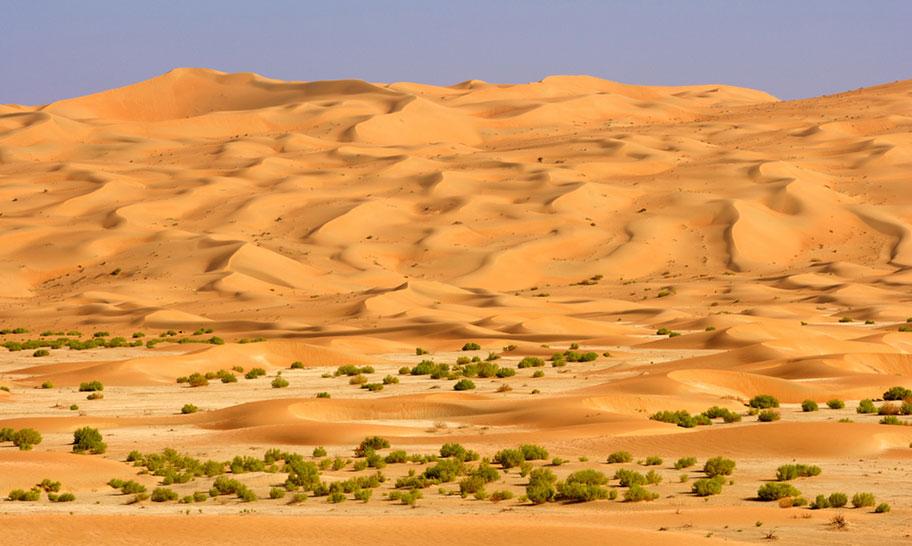 Liwa Wüste Rundreise Arabische Emirate
