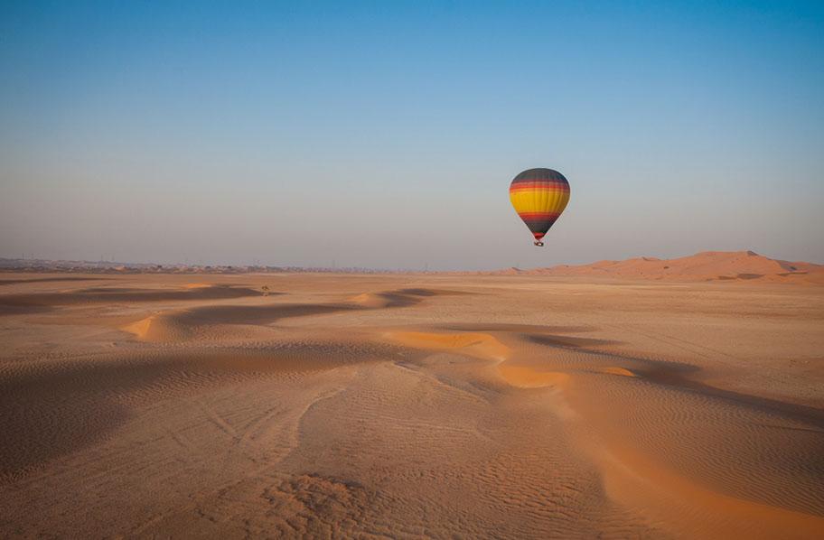 Oman Ballonflüge für die ganze Familie