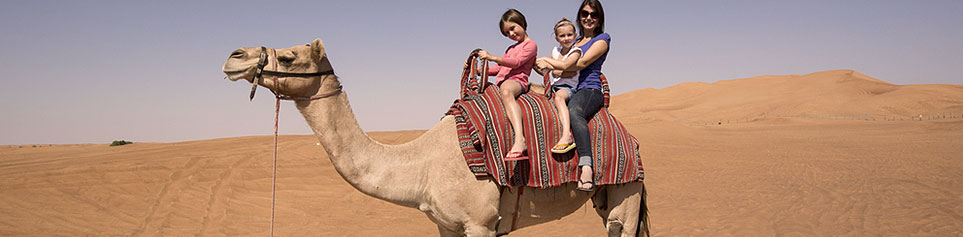 Dubai Reisen mit Kindern